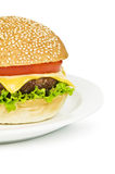 Cheeseburger Royalty Free Stock Photos