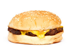 Cheeseburger Stockbild