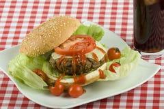 Cheeseburger   Fotografía de archivo