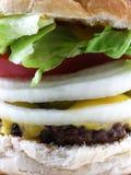 Cheeseburger fotos de stock