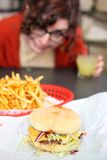 Cheeseburger Royalty Free Stock Image