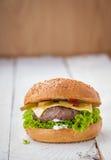 Cheeseburger Στοκ Φωτογραφίες
