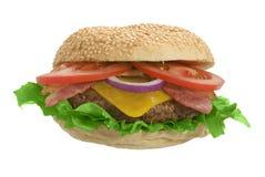 cheeseburger Στοκ Φωτογραφία