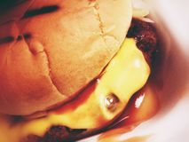 cheeseburger Стоковые Фото