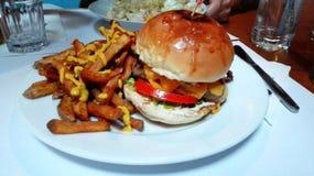 cheeseburger Стоковая Фотография RF