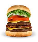cheeseburger Стоковое Изображение