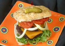 Cheeseburger immagini stock libere da diritti