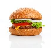 cheeseburger Royaltyfria Bilder