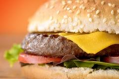cheeseburger Fotografie Stock Libere da Diritti