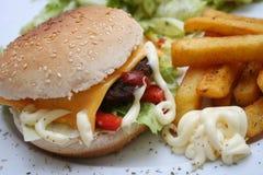Cheeseburger Stock Images
