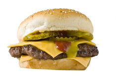cheeseburger photographie stock libre de droits