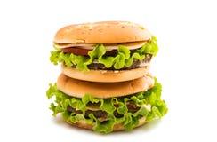 cheeseburger zdjęcia stock