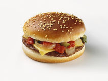 Cheeseburger Royalty Free Stock Photography