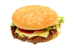 Cheeseburger Stock Photography