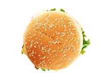 Cheeseburger classico Fotografie Stock Libere da Diritti