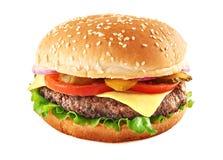 Cheeseburger classico Fotografia Stock Libera da Diritti