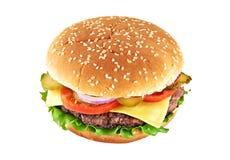 Cheeseburger classico Immagini Stock