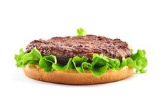 Cheeseburger classico Immagini Stock Libere da Diritti