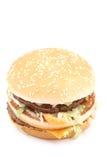 Cheeseburger délicieux Image libre de droits