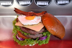 Cheeseburger Royalty Free Stock Photos