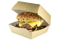 Cheeseburger fait maison photos libres de droits