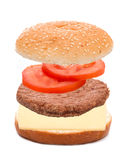 Cheeseburger, Hamburger Royalty Free Stock Image