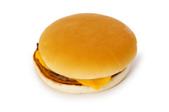 Cheeseburger  isolated Stock Image