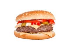 Cheeseburger isolated Stock Image