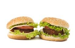 cheeseburger jedzenia fastfood obraz stock