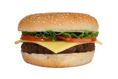 cheeseburgergrönsallattomat Royaltyfri Foto