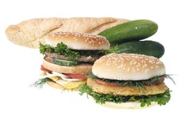 Cheeseburgers Royalty Free Stock Image