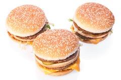 Cheeseburgers Royalty Free Stock Photos