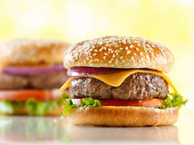 Cheeseburgers Royalty Free Stock Photography
