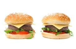 Cheeseburgers Стоковая Фотография