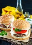 Cheeseburgers Stock Photos
