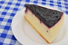 cheesecake βακκινίων πολυτελές Στοκ Εικόνες