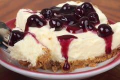 cheesecake βακκινίων Στοκ φωτογραφία με δικαίωμα ελεύθερης χρήσης