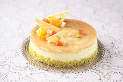 Cheesecake γκούντα στοκ φωτογραφία
