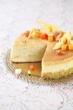 Cheesecake γκούντα στοκ εικόνες