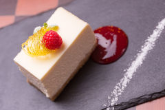Cheesecake επιδόρπιο Στοκ Φωτογραφία