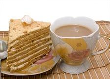 cheesecake καφές στοκ φωτογραφίες