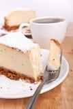 cheesecake κλασικός καφές στοκ εικόνες με δικαίωμα ελεύθερης χρήσης