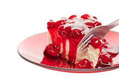 cheesecake λευκό στοκ φωτογραφία με δικαίωμα ελεύθερης χρήσης
