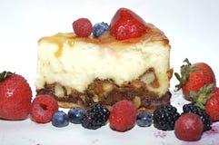 Cheesecake με τα μούρα Στοκ φωτογραφία με δικαίωμα ελεύθερης χρήσης