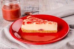 Cheesecake μούρων Στοκ φωτογραφία με δικαίωμα ελεύθερης χρήσης
