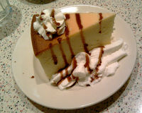 cheesecake Νέα Υόρκη Στοκ εικόνα με δικαίωμα ελεύθερης χρήσης