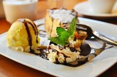 cheesecake παγωτό στοκ φωτογραφίες με δικαίωμα ελεύθερης χρήσης