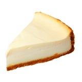 Cheesecake που απομονώνεται στο λευκό στοκ εικόνα με δικαίωμα ελεύθερης χρήσης