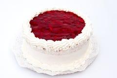 cheesecake σμέουρο Στοκ Εικόνες