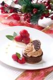 cheesecake σοκολάτα στοκ εικόνες